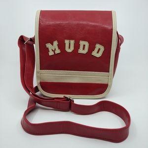 Vintage 90s Y2K Mudd Vegan Leather Crossbody Bag